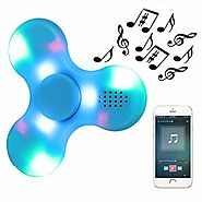 Kivors Speaker Fidget Spinner, Children's Gift Wireless Speakers Music Fidget Spinner Toy Reducer EDC Hand Spinner fo...