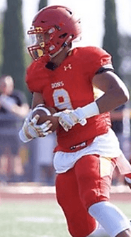 Kenya Hunt, Jr. (Cathedral Catholic) 6-1, 235