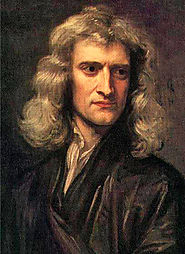 Isaac Newton 25 December 1642 – 20 March 1726/27