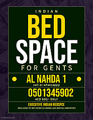 Indian executive Bed space available | Dubai Bed Space Ladies Gents