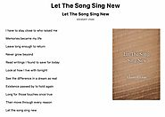 Let The Song Sing New