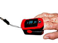 Wrist Pulse Oximeter Bracelets – Georgy H. – Medium