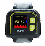 Automatic Wrist Pulse Oximeter with Memory MTS OX-610A | Motion Tolerant with Finger Sensor, Programmable Alarms, Day...