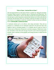 What to Choose - Abortion Pill or in Clinic ? by Womenscenters - Issuu