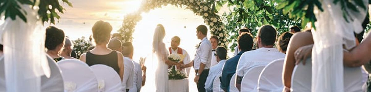 Headline for Best Places for a Destination Wedding- You can't beat the tropics!