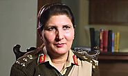 Nigar Johar Khan being appreciated on becoming third woman Major General in Pakistan Army