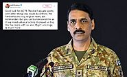 Major general Asif Ghafoor has responded effectively to the Indian Major who tries to troll Pakistan