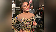 Mehwish Hayat pens heartfelt note after receiving Best Actor (Female) Award at LSA 2019