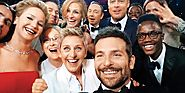 "Noah Lopez on Twitter: ""One of my favorites images from @TIME its the famous selfie taken by Bradley Cooper at the #O..."