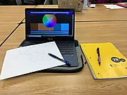"Noah Lopez on Twitter: ""Learning #complementary colors in journalism #RSJ108 going through the planning process for m..."