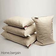 Details about  Pack of 4 Rectangular Oblong Boudoir Duck Feather Cushion Pad Insert Filler