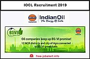 IOCL Recruitment 2019: Indian Oil Corporation Limited Invited 25 applications for the post of Research Officer - FREE...