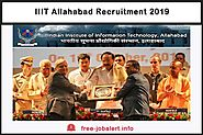 IIIT Allahabad Recruitment 2019: Application for Medical Officer Vacancy and various Vacancies - FREEJobALERT: Recrui...