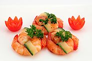 spicy prawns in lettuce Food lover's LUNCH/DINNER