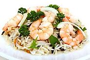KING PRAWN FRIED RICE Food lover's LUNCH/DINNER