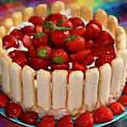 french strawberry european cake recipes Food lover's