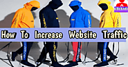 How to increase in new website traffic highly on google - Clickndia