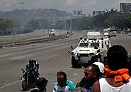 Warning, graphic video: Government vehicle runs over protesters in Venezuela - The Burning Truth