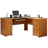 L-Shaped Outlet Desk