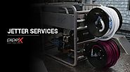 Instantly remove clogs from the pipes with our Jetter Services
