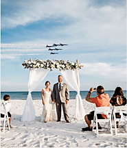 Best beach house wedding in Pensacola beach