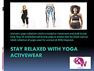 Best Activewear to Keep You Motivated | KDW Apparel by Kdw apparel - Issuu