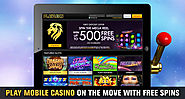 Play Mobile Casino on The Move with Free Spins
