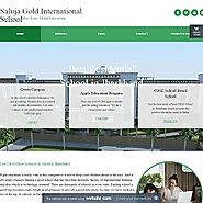 Best Residential School in Jharkhand at Saluja Gold International School