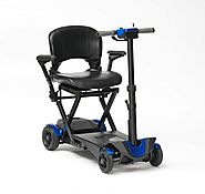 Drive 4 Wheel Automatic Folding Mobility Scooter (Blue) – Mobility Solutions Direct 2018