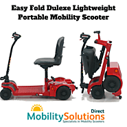 Amazing Easy Fold Dulexe Lightweight Portable Mobility Scooter