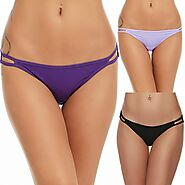 Ubuy Finland Online Shopping For Women's Low-Rise String Bikini Panties in Affordable Prices.
