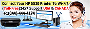 How do You Connect Your HP 5820 Printer To WiFi?