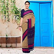 Georgette Sarees | Buy Pure Georgette Sarees | Online Georgette Sarees | Zinnga