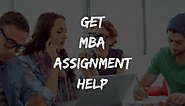 Best MBA Assignment Help for Management Students in Australia-UK & USA