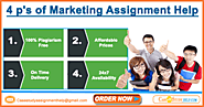Help with 4 P's Of Marketing Assignment by Case Study Help Marketing Experts