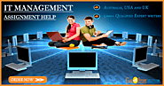IT Management Assignment Help & Writing Service by Skilled IT Experts