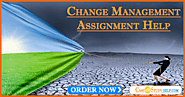 Best Change Management Assignment Help by MBA Experts in Australia