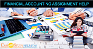 Get the Best Financial Accounting Assignment Help in Australia by Finance Experts