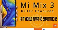What is the price of MI Mix 3 in India?