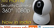 How to connect MI home security camera 360 with mobile