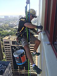 Rope Access Painting & Window Cleaning Companies Sydney