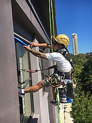 Abseiling Painters Sydney | Next Level Painting