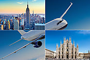 New York to Milan Flights