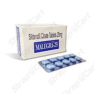 Malegra 25mg : Reviews, Side effects, Price | Strapcart