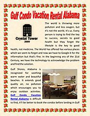Gulf Condo Vacation Rental Alabama