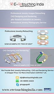 Find Best Jewelry Photo Retouching and Rendering Company in India