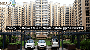 Nirala Estate Noida Extension, Nirala Estate Phase-2 - Price List