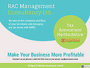 Hire a Tax accountant Hertfordshire for tax season | RACMACS