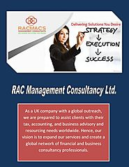 Hire Tax Accountant Hertfordshire & Tax Advisor | RACMACS