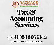 Manage Your Small Business Finances with Accountants Hertfordshire | RACMACS